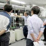 冷水配管システムのモデル実習