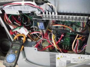 空調機器の点検整備