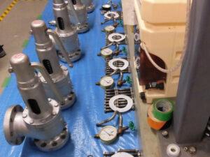 圧力容器の分解清掃